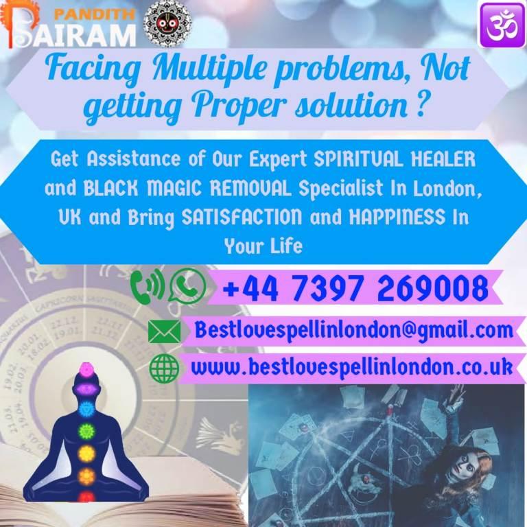 Black Magic Removal in London